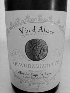 Gewurtraminer - Grayscale